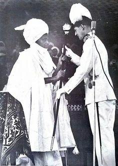 Enthroning an Emir, Gombe, 1955
