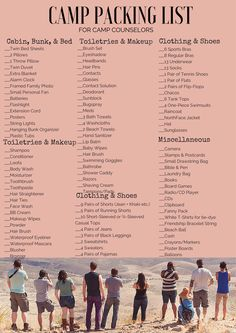 http://simplyhannahslife.weebly.com/blog/summer-camp-. Camp Packing ListsVacation  Packing ChecklistCamping ...