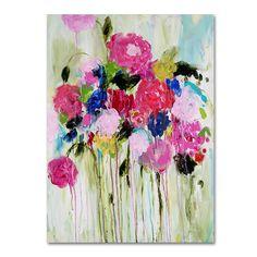 Trademark Fine Art Mi Amor Canvas Wall Art, Pink