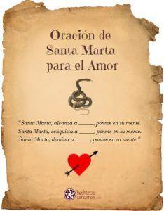Oración de Santa Marta Dominadora para el amor
