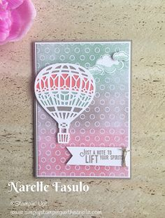 2017 Occasions Catalogue Lift Me Up Bundle, Up & Away Thinlits - Simply Stamping with Narelle