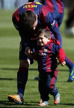 Awesome Pictures For Leo Messi and Thiago Messi Morably