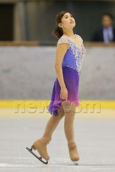 Yukina Ota Ice Dance Dresses, Skating Dresses, Prom Dresses, Formal Dresses, Gym Leotards, Crystal Design, Roller Skating, Figure Skating, Purple Dress