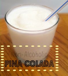 Non-Alcoholic Pina Coladas. Made by Bev!! My sis had this recipe, & made us some 1 time, mmmm they are sooo good!! Her recipe is alittle different 1\4 cup cream of coconut, 1\2 cup crushed pineapples, 2 cups ice, no sugar..