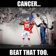 Beat Cancer & going to the Pro-Bowl Kansas City Chiefs Football, Kansas City Royals, Inspirational Football Quotes, Justin Houston, Eric Berry, Wonder Boys, Kansas City Missouri, Home Team, Nfl