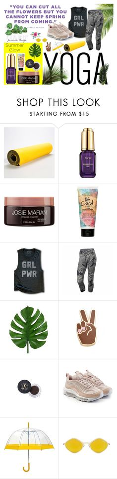 """""""sundaze"""" by kristynpaige ❤ liked on Polyvore featuring tarte, Josie Maran, Bumble and bumble, NIKE, Georgia Perry and Quay"""
