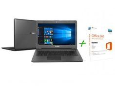 "Notebook#-Oferta Imperdível!-Notebook PC Mix Intel Celeron Dual Core - 4GB SSD 32GB LCD 14"" + Office 365 Personal"