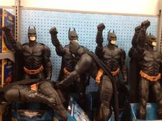 No, Batman! The power is really driving him insane