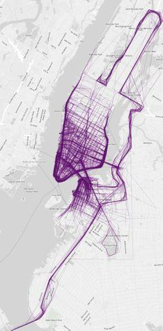 New York #map #run #NY