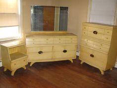 A Mid Century Modern Bedroom Set Makeover