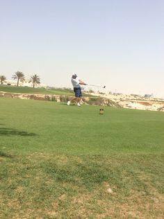 tee at Royal Bahrain Golf Club Golf Clubs, Golf Courses, Couple Photos, Couples, Tees, Couple Shots, T Shirts, Couple Pics, Tee Shirts