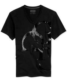 Guess Quatro G Logo Graphic T-Shirt
