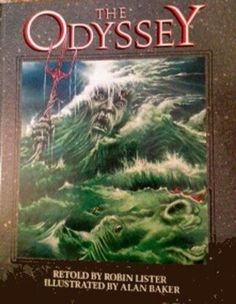 The Odyssey by Robin Lister Illustrated by Alan Baker 1st Edition 1988 HC Book | Books, Children & Young Adults, Other Children & Young Adults | eBay!