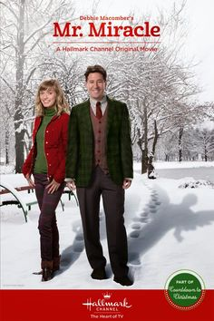 """Its a Wonderful Movie - Your Guide to Family Movies on TV: """"Debbie Macomber's Mr. Miracle"""" - a Hallmark Channel Christmas Movie for 2014"""