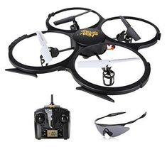 Holy Stone U818A HD Plus Drone with Camera 2.4GHz 4 Channel 6-Axis Gyro Quadcopter