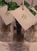 St Patty's day party favor