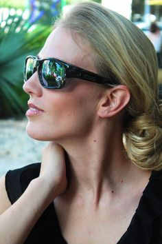 Yamba Blue Marble fitovers by Jonathan Paul® -- These over Rx sunglasses fit perfectly over any and all prescription glasses *as long as you have the right size* - So size yourself now and see which ones fit you: https://fitovers.com/size