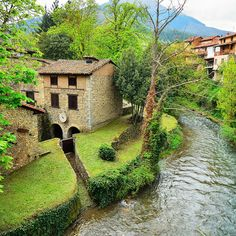 Río Quiviesa en Potes  #Cantabria #Spain