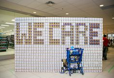 Photography: Dana Nosella Studio #CANstruction2014 #Sarnia #SLont Watch our video: http://www.youtube.com/watch?v=tbDv6zKfY6c&feature=youtu.be