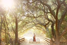 Such a beautifully rustic #engagement photo! From http://greenweddingshoes.com/woodsy-engagement-photos-brilane-daniel/  Photo Credit: http://priscilavalentina.net/