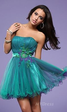 prom dress # short dress #