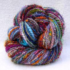 700 Flowers 86 Yards of Crazy Art Yarn by SpinningAwesomeGood