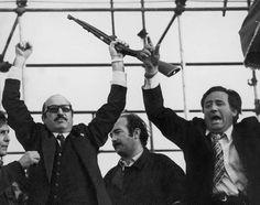 Y llegó Perón a la Argentina (20 de junio de 1973), a festejar...   :-(