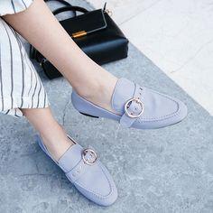Chiko Min Grommets Strap Loafer Flats