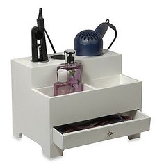 Bed Bath & Beyond - Keep your cosmetics and hair accessories neatly organized with this personal unit.