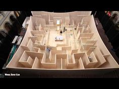 Giant Maze by BIG Architects opens at The National Building Museum — urdesignmag