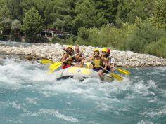 Köprülü Kanyon Milli Parkı içerisinde Tarihi Oluk Köprü ve Karabük Köprüsü arasındaki 14 kilometrelik alanda yapılan tur, 2-3 zorluk derecesine sahiptir.  Rafting firmalarının tesisleri aynı zamanda tur bitiş noktalarıdır. Tesisimiz konumu itibariyle rafting parkurunun en son noktasında yer almaktadır. Bu avantajlı konumu sayesinde misafirlerimiz en uzun rafting parkurunu tamamlamış olurlar. Rafting Tour, Turu, Extreme Sports, Antalya, Adventure, Outdoor Decor, Adventure Movies, Adventure Books