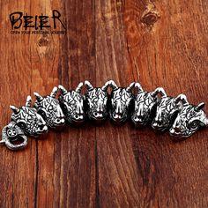 Cool Heavy Metal Men Crucifixus Animal Man Stainless Steel Unique Design Jewelry Bracelet For Boy Fast Fashion, Work Fashion, Trendy Fashion, Fashion Jewelry, Style Fashion, Fashion Ideas, Fashion Inspiration, Fashion Outfits, Fashion Trends