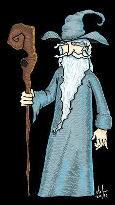 Gandalf, hobbit, tolkien