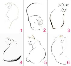 3 minimalist cat prints signed by KellasCampbell on Etsy - . - 3 minimalist cat prints signed by KellasCampbell on Etsy – - Minimalist Cat Tattoo, Black Cat Tattoos, Tattoo Black, Cat Tattoo Designs, Tiny Cats, Black Cat Art, Cat Silhouette, Cat Drawing, Animal Drawings