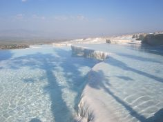Travertines, Pamukkale, Turkey | Flickr - Photo Sharing!