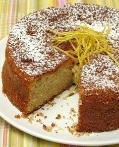 עוגת תפוזים ושקדים מעולה! - עוגיו.נט