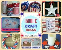 Do It Yourself Patriot Craft Ideas