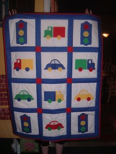 vehicle design quilt | Truck Quilt Pattern