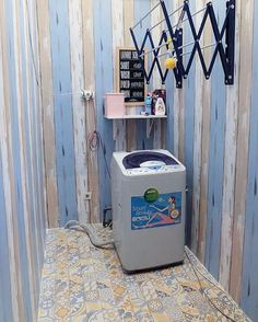 Outdoor Laundry Rooms, Small Laundry Rooms, Small Rooms, Laundry Room Bathroom, Laundry Room Storage, Laundry Area, Kitchen Corner, Kitchen Sets, Home Room Design