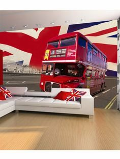 1Wall Iconic London Double Decker Bus, London Bridge And Union Jack Flag Wallpaper Wall Mural by 1 Wall, http://www.amazon.co.uk/dp/B00AR9PT32/ref=cm_sw_r_pi_dp_JHJWsb0H2GS5H