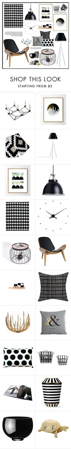 """Sin título #2133"" by liliblue on Polyvore featuring interior, interiors, interior design, home, home decor, interior decorating, Menu, ZENTS, CB2 and Pillow Decor"