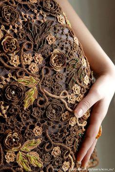 Ivelise Feito à Mão: Crochê Irlandês Sonhos de Vestidos Maravilhosos!!!!
