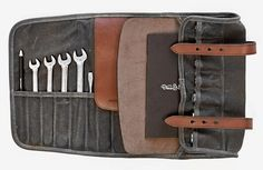 Deus x Makr Tool Roll - need this on my vintage bike for those middle of nowhere side on the road breakdowns