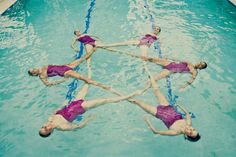 Verso Performance: Miami's Synchronized Swimming Show Team (PHOTOS)