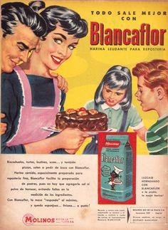 1957 Tambien la publicidad trae recuerdos de la infancia.