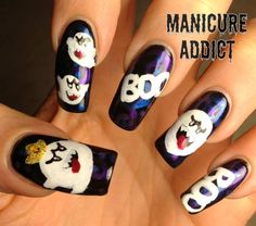 Manicure Addict: Challenge Day 29: Inspired by The Supernatural