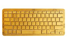 Like working in a tropical jungle!  iZen Bamboo Bluetooth Keyboard