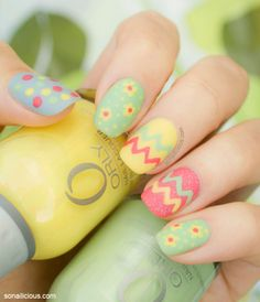 Looking for some adorable Easter Nail Designs? Here's the cutest collection of modern Easter nail art ideas. Browse through the best Easter nail designs. Easter Nail Designs, Easter Nail Art, Nail Designs Spring, Cool Nail Designs, Christmas Manicure, Christmas Nail Art, Holiday Nails, Spring Nails, Summer Nails