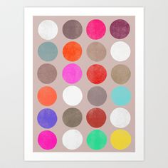 Colorplay 2 Art Print by Garima Dhawan - $18.00