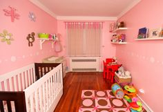 best pictures of baby girl nursery rooms. style baby girl room ideas cute and adorable nurseries decor Girls Room Wall Decor, Baby Nursery Decor, Baby Decor, Nursery Room, Girl Nursery, Girl Room, Nursery Ideas, Jungle Nursery, Bedroom Ideas